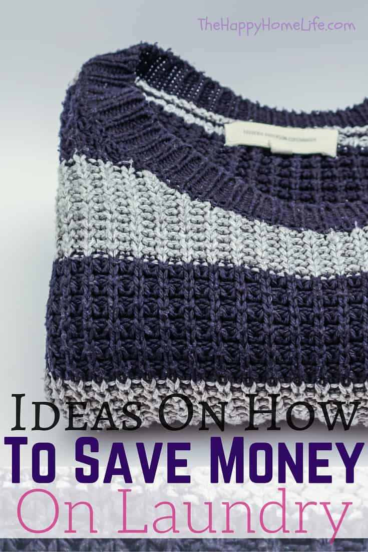 Ideas On How To Save Money On Laundry - Learn simple ways to save money on laundry. These ideas will help you save money and reduce your electric bill.