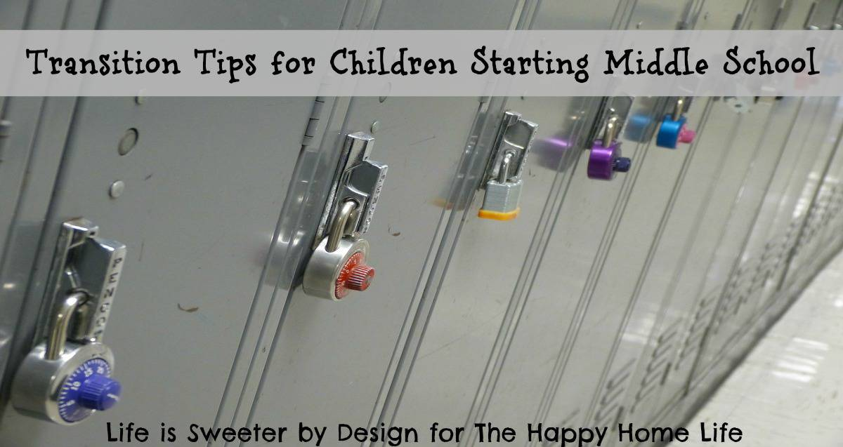 Transition tips for children starting middle school are more important than many parents are aware o...