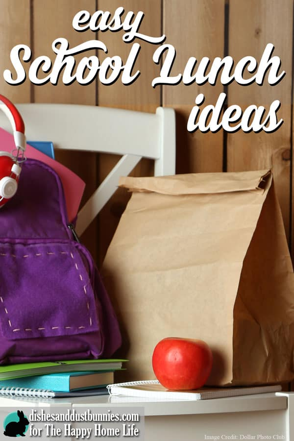 Easy school lunch ideas for Easy lunch ideas for kids at home