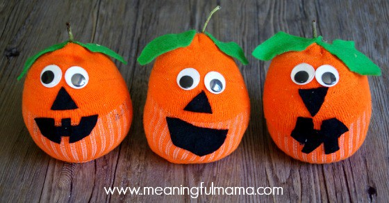 pumpkin craft for kids 1
