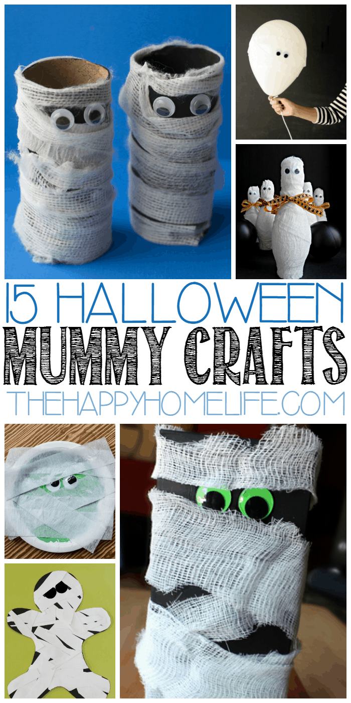 Halloween Mummy Crafts for Kids