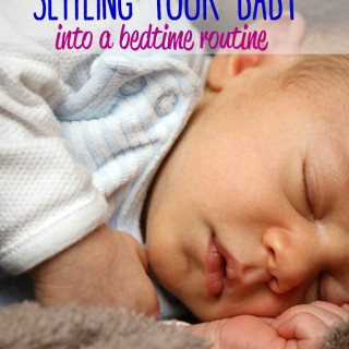 Sleeplessness is just one of those things that comes along with being a parent. Here is some advice for settling your baby into a bedtime routine.