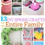 DIY Spring Crafts For The Entire Family