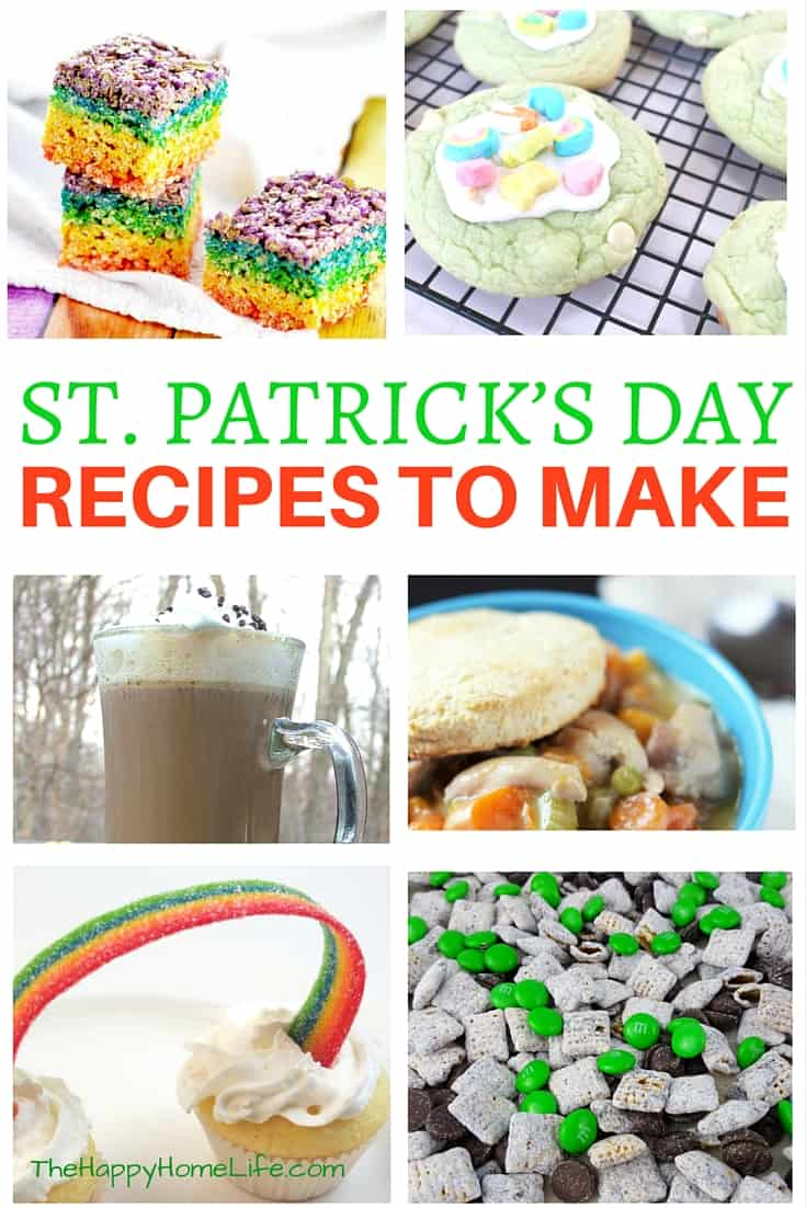 Looking for St. Patrick's Day recipes to make? Check out these delicious recipes to help you get inspired this St. Patrick's Day.