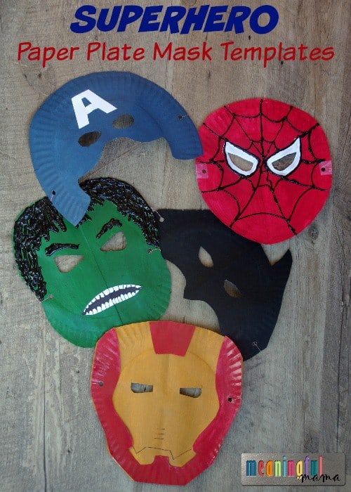 superhero party craft ideas paper plate crafts for the happy home 5529