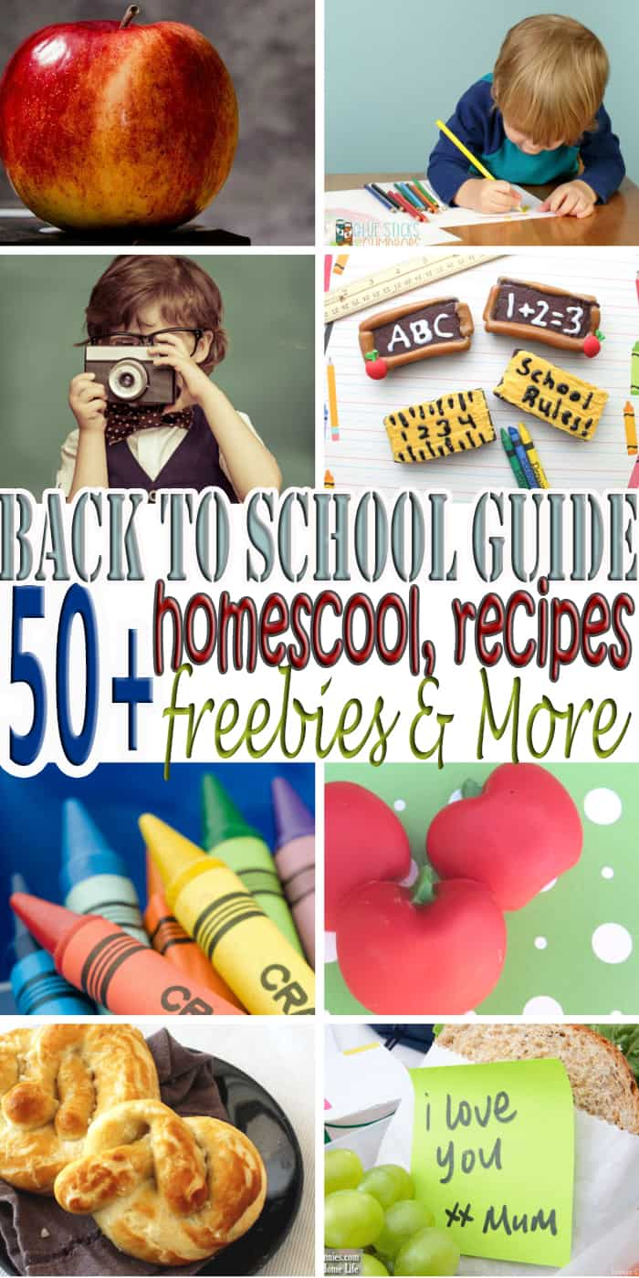 53 Going Back To School Resources - Is that time of the year, back to school, and even though we know it is coming it can be overwhelming at time. Going back to school can be challenging for everyone in the family. From kids to parents, things like budget, organization, homeschooling among a few things can add stress. This guide will provide you with everything you need to make this back to school season a smooth one.