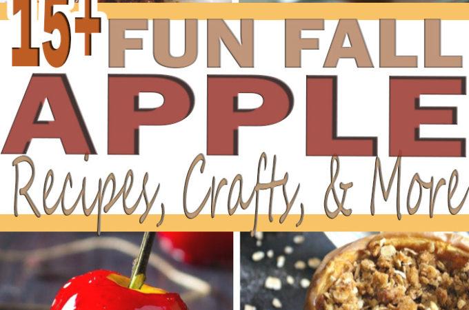 Fun Fall Apple Round Up Pinterest