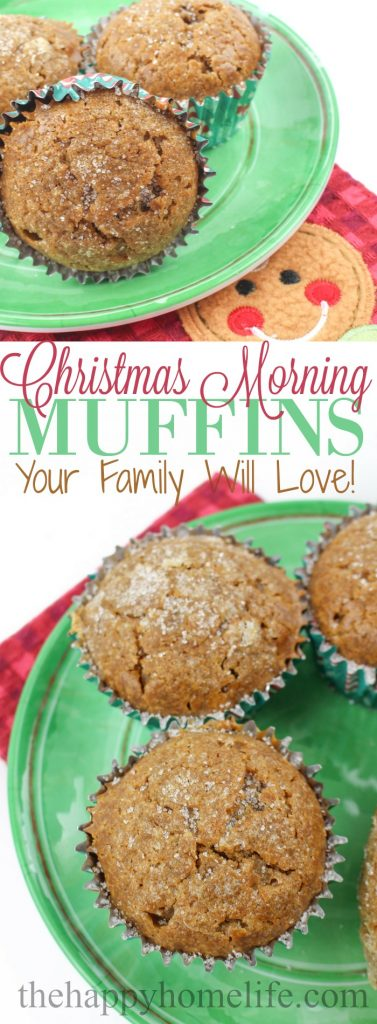 Looking for the best Christmas Morning Muffins? Check out this amazing recipe that you and your family are going to love this Christmas!