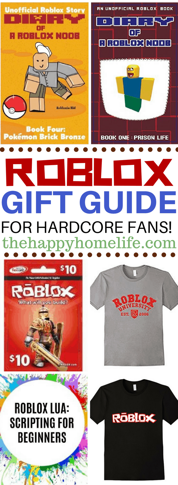 Calling all Roblox fans! Check out this Roblox gift guide to find the perfect gift for your favorite hardcore fan! From shirts to books find them here.