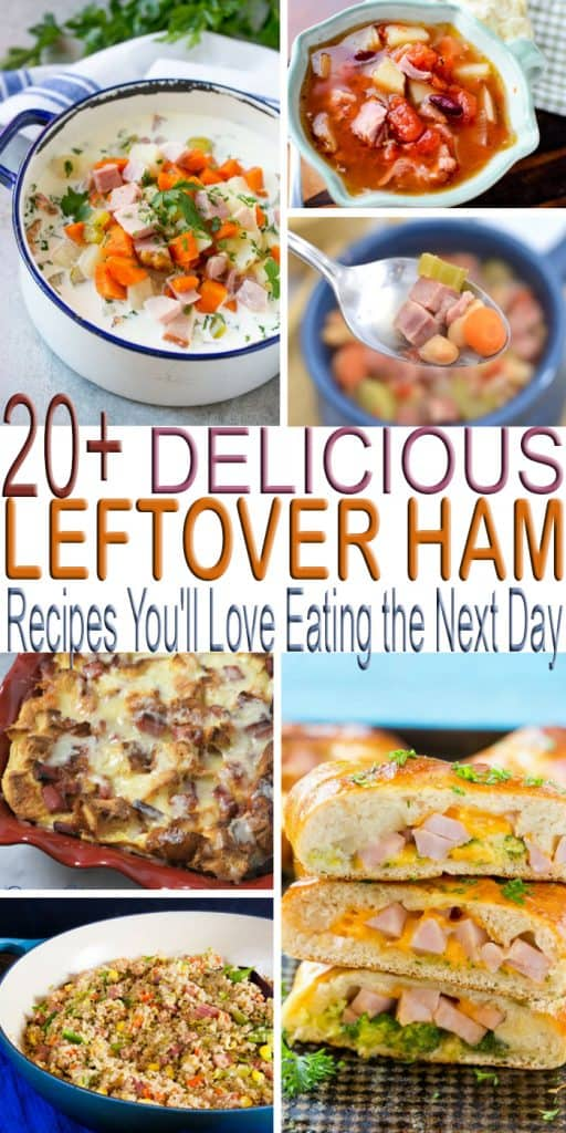 Looking for a delicious leftover harm recipe? Check out over 20+DELICIOUS Leftover Ham Recipes You'll Eating The Next Day.