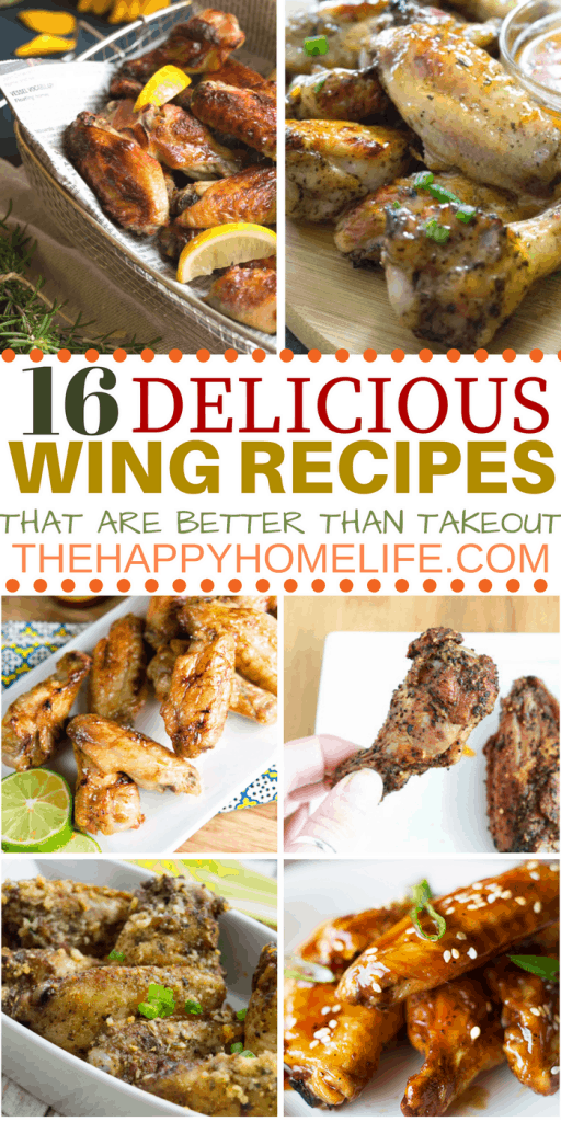 Quit looking looking for places to order wings and make some delicious wings recipes at home. Here are 16 wings recipes that are better than takeout.