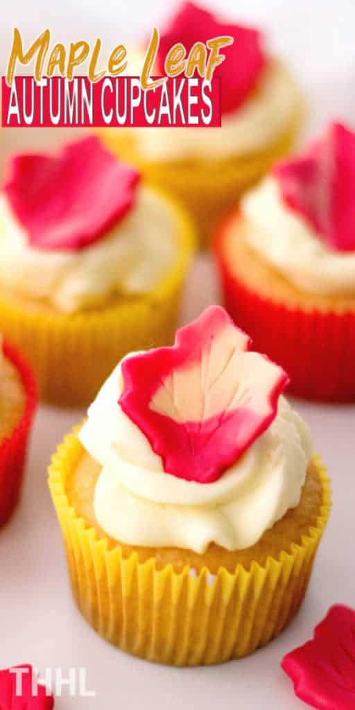 Learn how to make maple leaf autumn cupcakes this season. This fall cupcakes are pretty simple to make and great for gatherings.