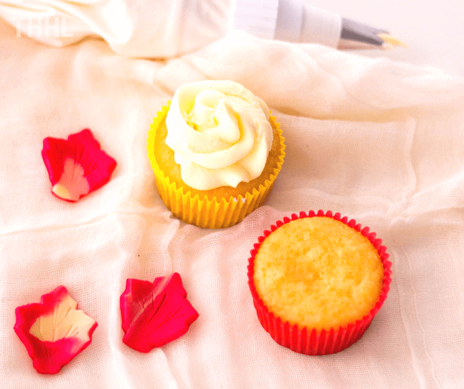 How to frost a maple leaf fall cupcake