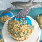 Shark Costume Cupcakes (Super Easy To Make)