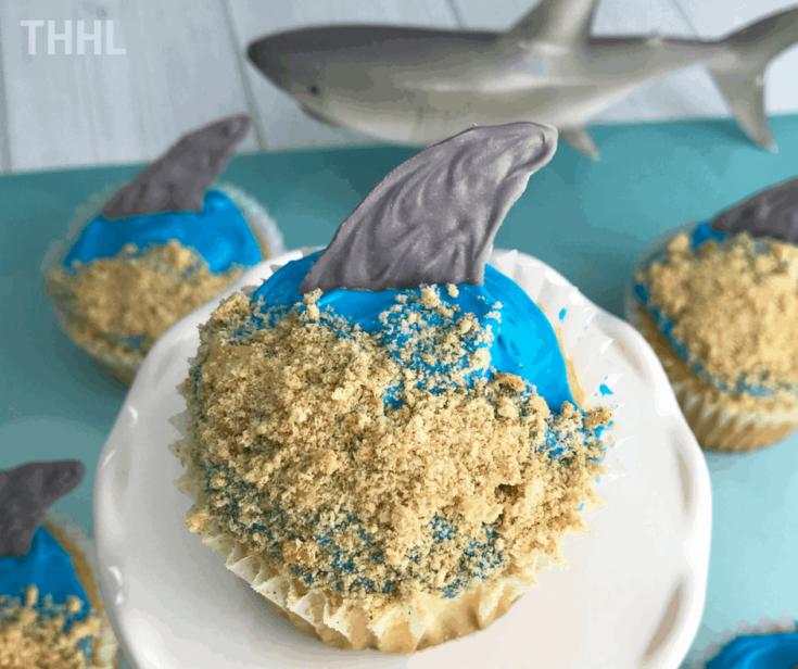 Shark Costume Cupcakes