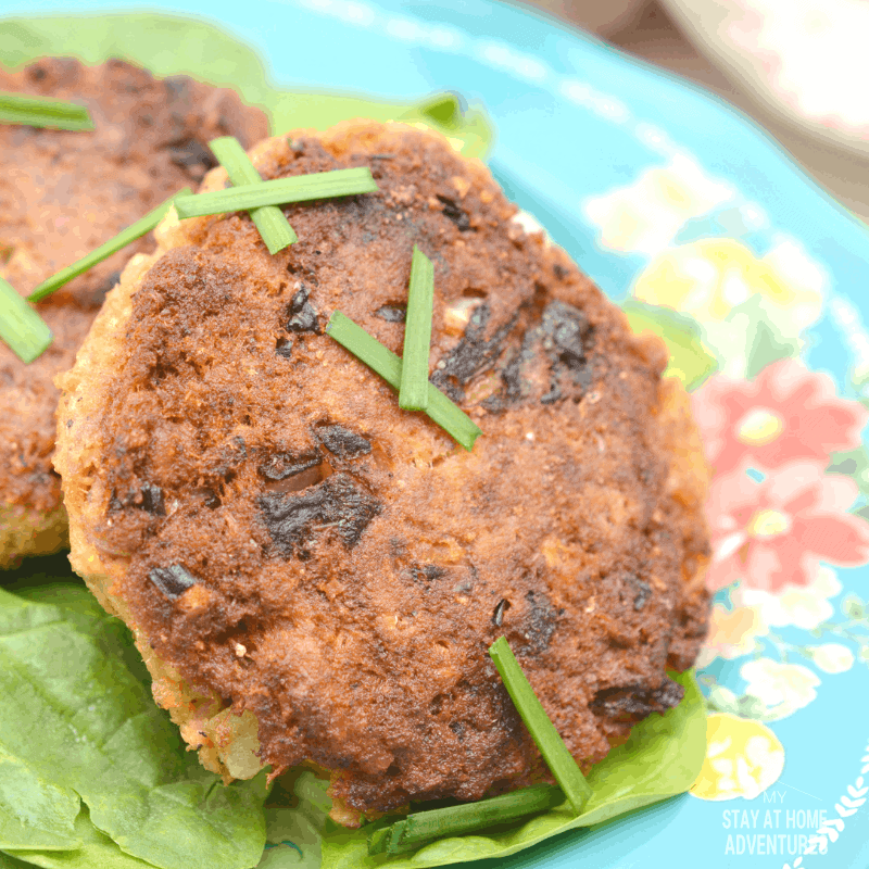 Keto Salmon Patties Recipe (With Pork Grind)