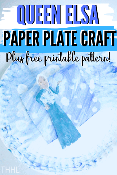 Learn how to make Queen Elsa Paper Plate Craft (Inspired) that includes a free printable pattern you and your kids are going to love .