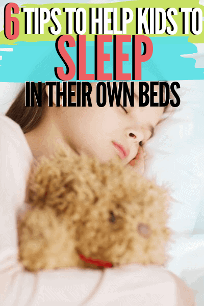 This is a common problem parent face and today you are going to learn six tips to help your kids to sleep in their own bed.
