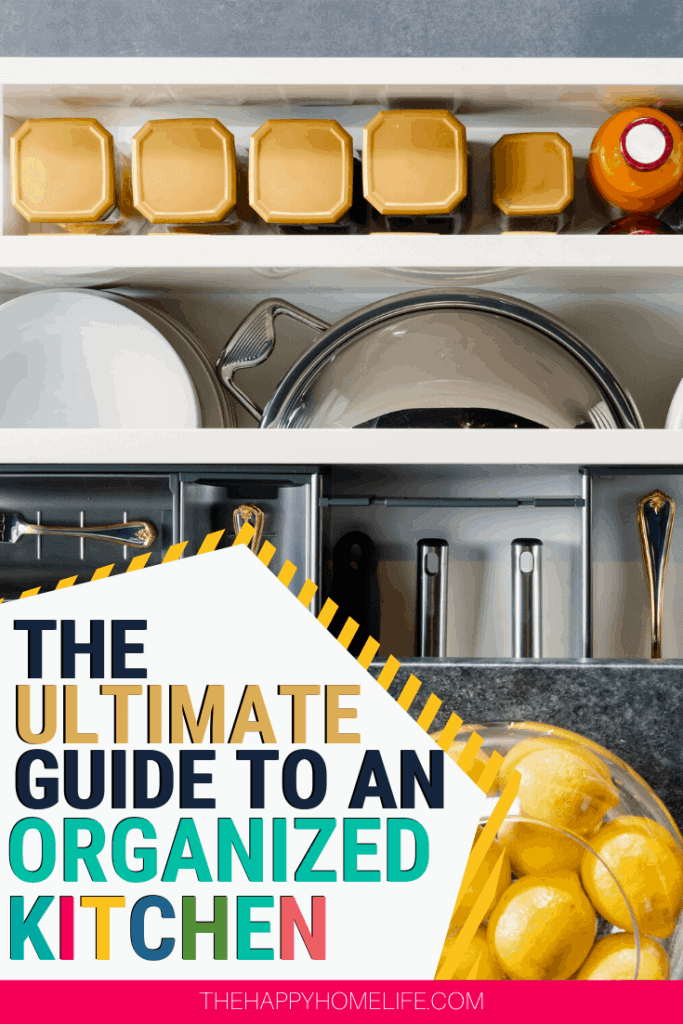 Keeping an organized kitchen is possible. Read this kitchen organization guide and start organizing your kitchen how you want it and with simple tools.