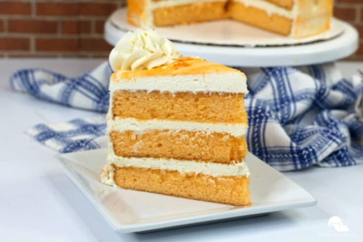Orange Julius Creamsicle Cake
