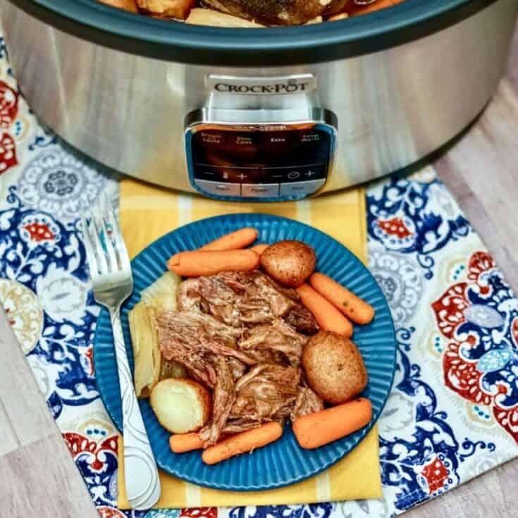 rump roast crock pot recipe with carrots and potatoes